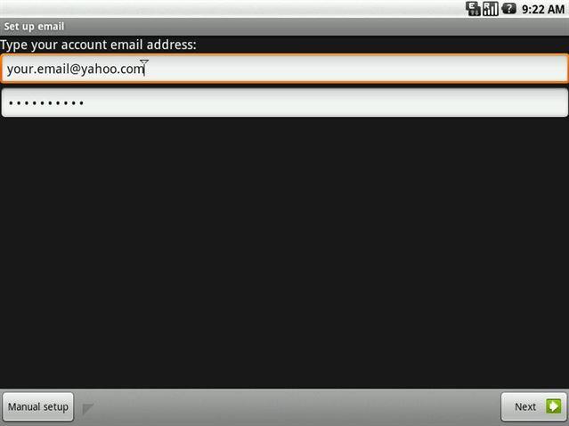Paso#1: Entrar usuario y contraseña de Yahoo Mail