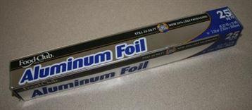 Por el receso económico nos fuimos con un aluminio genérico, lo sentimos Reynolds Aluminum