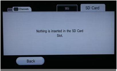 """Seleccionar pestaña """"SD Card"""""""