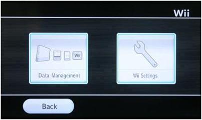 "Escoger ""Data Management"""