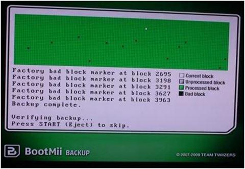 "Status del proceso de ""backup"""