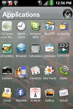 Localiza la aplicacion en tu móvil