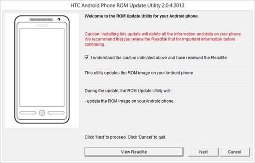 como utilizar el RUU para arreglar un HTC One o regresarlo al estado